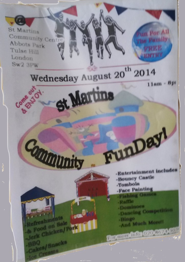 St Martins Fun Day