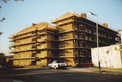 Godolphin House in 1990, credit: Stephen Kearney