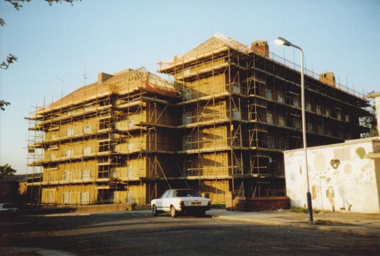Godolphin House in 1990, credit: Stephen Kearney