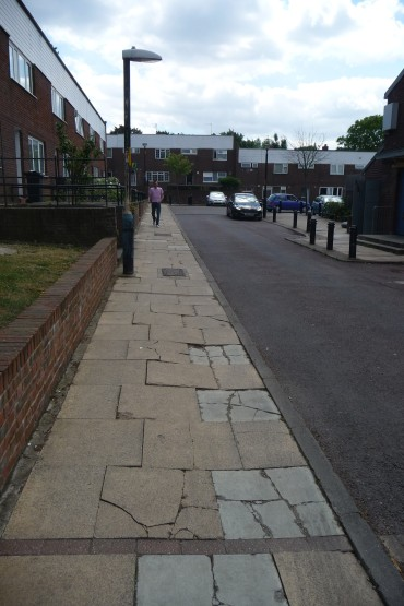 Pavement in June