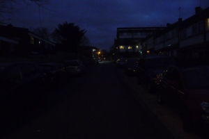 Gaywood Close lighting