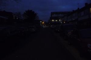Gaywood Close lighting