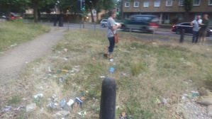 South Circular waste ground